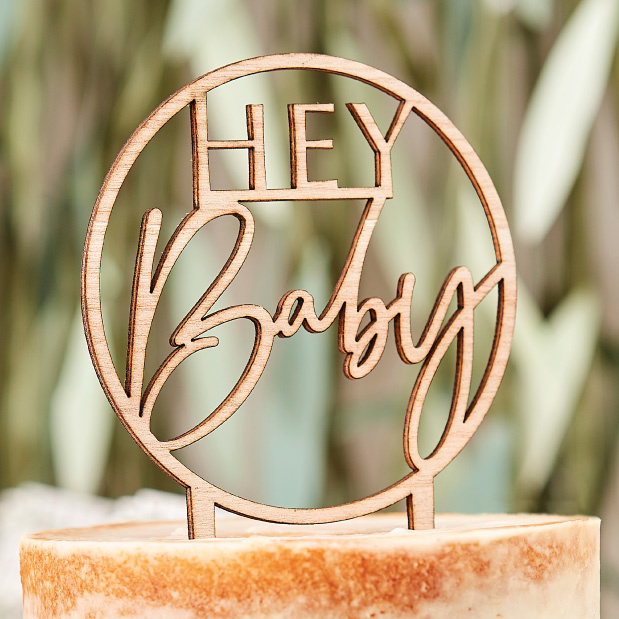 Cupcake toppers Botanical Baby (12st) Ginger Ray - Copy-1