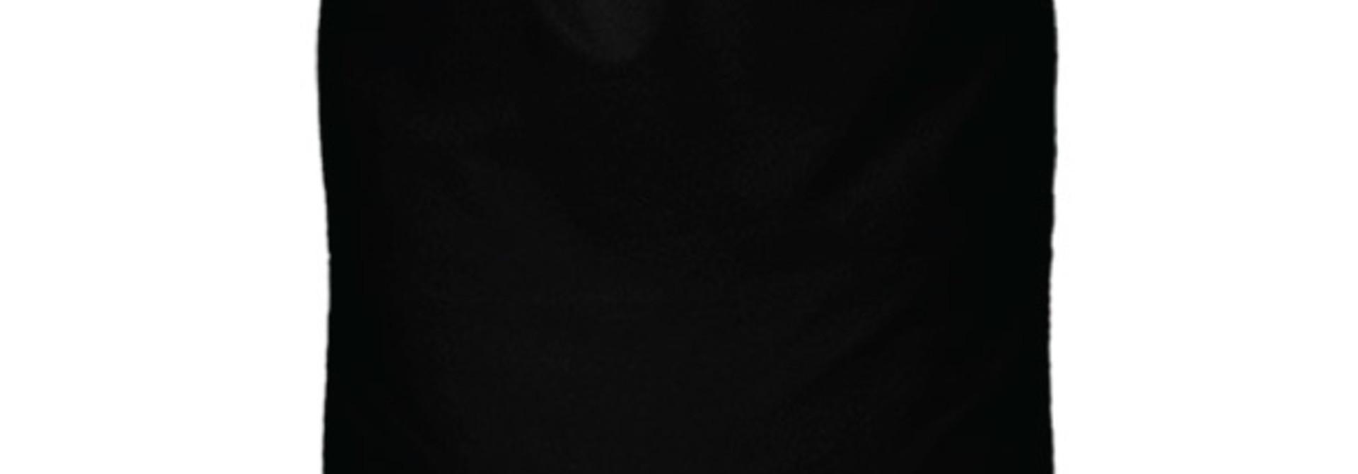Cadeauzak zwart xl