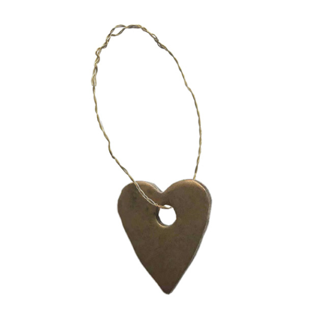 Kersthanger Metal Heart Delight Department-2