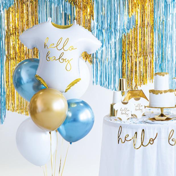 Folieballon romper(51 cm) Hello Baby-2
