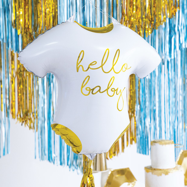 Folieballon romper(51 cm) Hello Baby-3