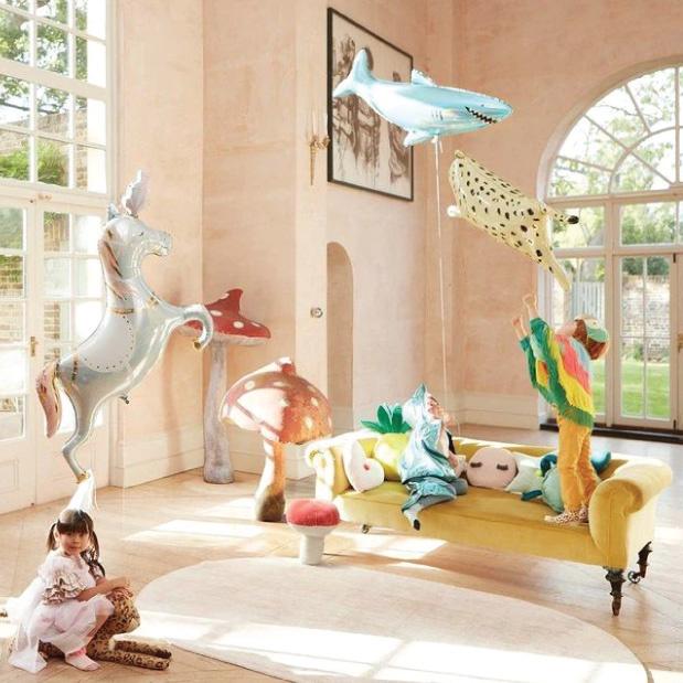 Folieballon Circus paard (102 cm) Meri Meri-2