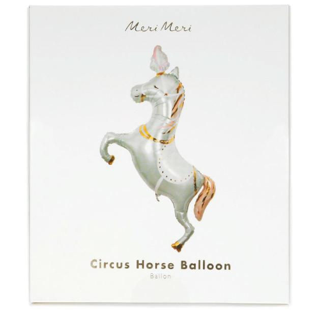 Folieballon Circus paard (102 cm) Meri Meri-3