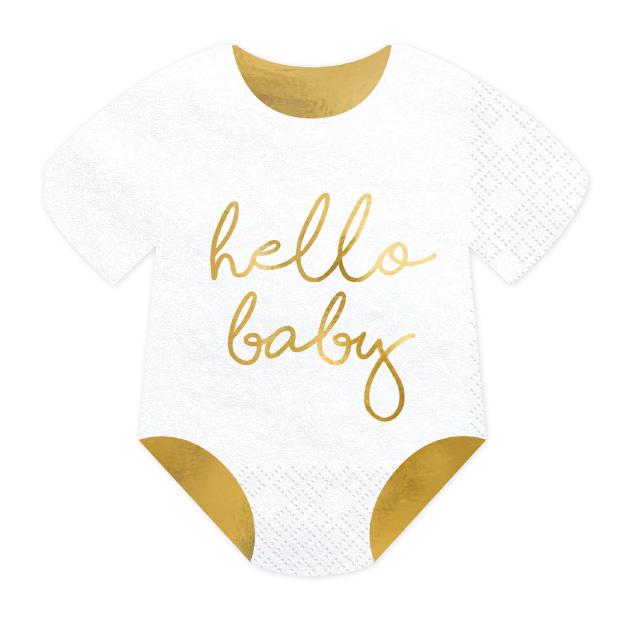 Servetten romper (20cm) Hello Baby-1