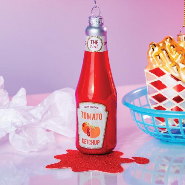 Kersthanger ketchupfles Sass & Belle-2