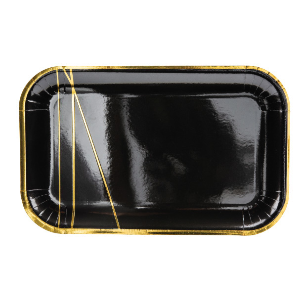 Bordjes Golden stripes (6st)-1