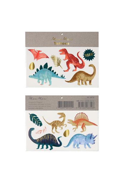 Plaktattoos Dinosaur Kingdom (13st) Meri Meri