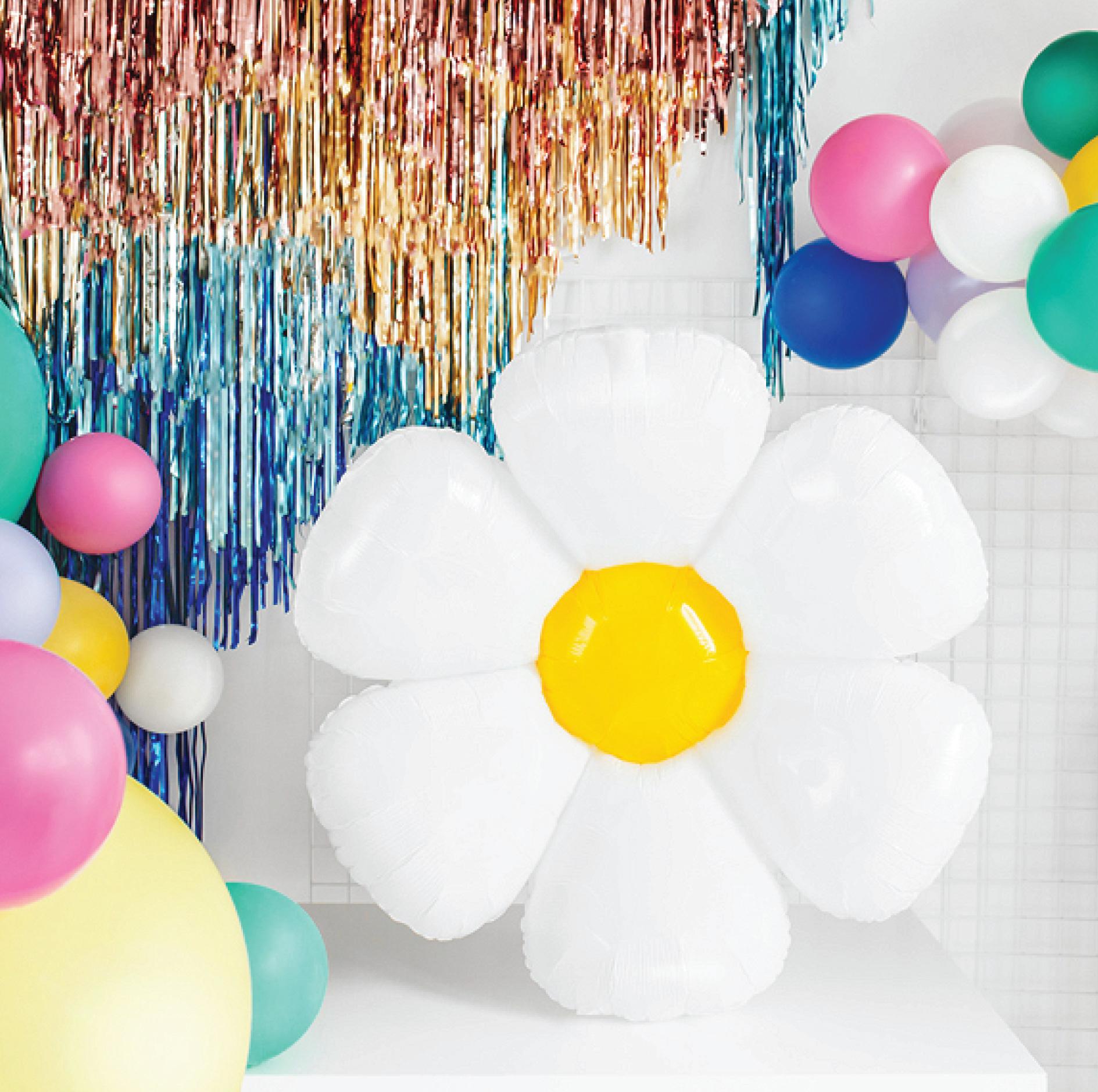 Folieballon madelief (75 cm)-1
