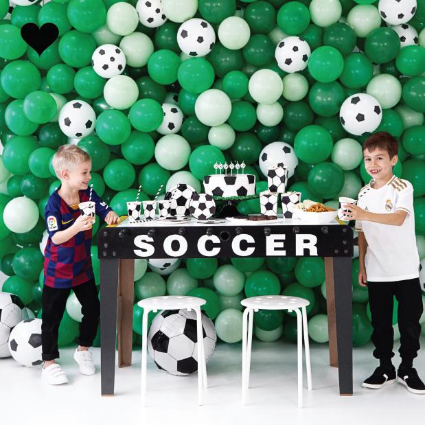 Folieballon voetbal (40cm)-2