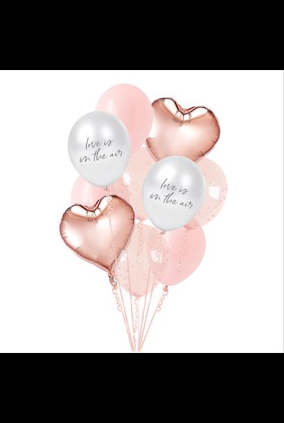 Ballonnenmix Love is in the air (12st) Hootyballoo