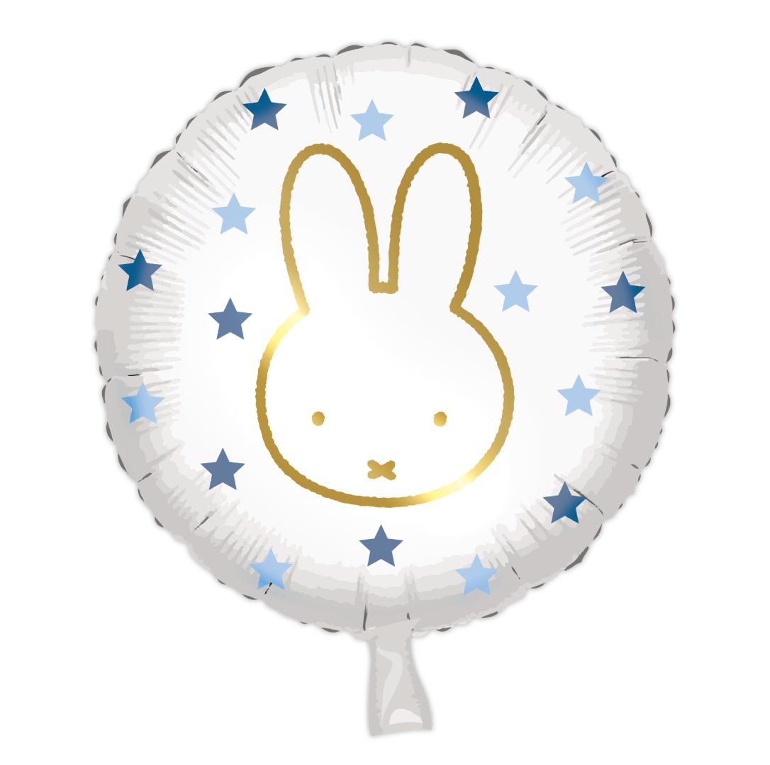 Folieballon Nijntje Blauw(45cm)-1