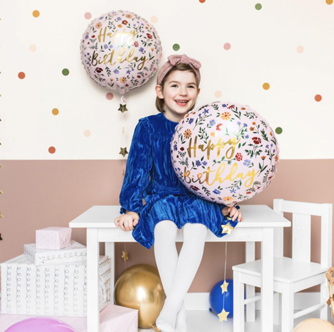 Folieballon Happy Birthday Dieren-2