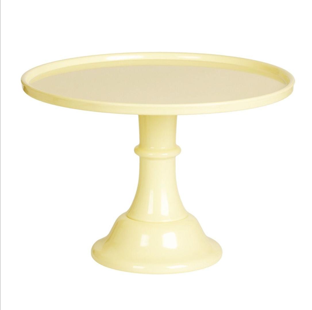 Taartplateau pastel geel XL A little Lovely Company-3
