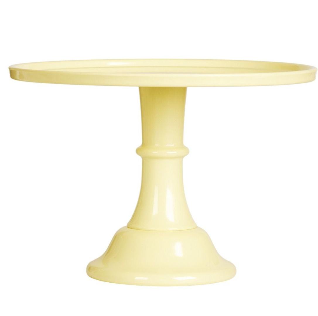 Taartplateau pastel geel XL A little Lovely Company-1
