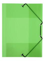 Viquel Viquel VI-113342-08 Elastomap 230x320 (A4) Elastieksluiting PP Groen Transparant