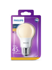Philips Led Flame A60 Fr N 45w E27