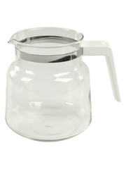 Fixapart 70653 Glazen Kan 1.2 L Transparant / Wit Koffiezetapparaat