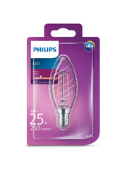 Philips LEDClassic 25W (2W) ST35 E14 WW CL ND 1BC/4 Verlichting