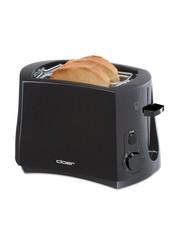 Cloer 3310 Broodrooster 825W Zwart