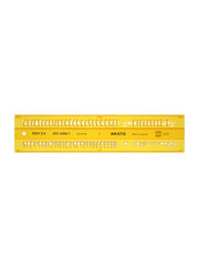 Aristo Aristo AR-5301/3 Lettersjabloon 3,5mm H-profiel Schriftvorm B Recht