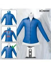 Bomann HBB 6025 CB Shirt- en Blousepers Wit/Grijs