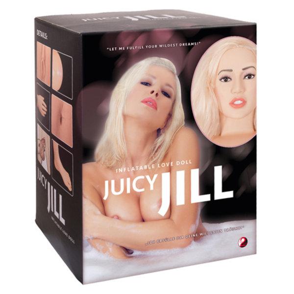 You2Toys Juicy Jill - blonde opblaaspop