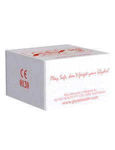 Glyde Ultra Slimfit Rood - 100 Condooms