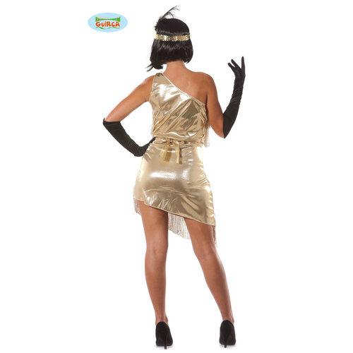 Fiestas Guirca Charleston dame met  goud lintjes