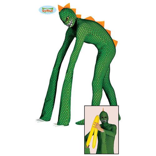 Fiestas Guirca Dino/Reptiel groen/zwart