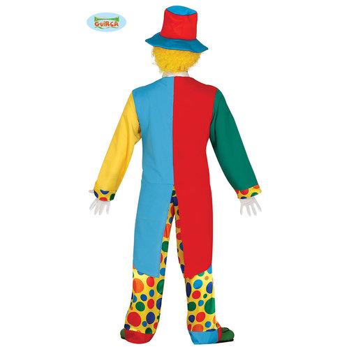 Fiestas Guirca Clown kostuum