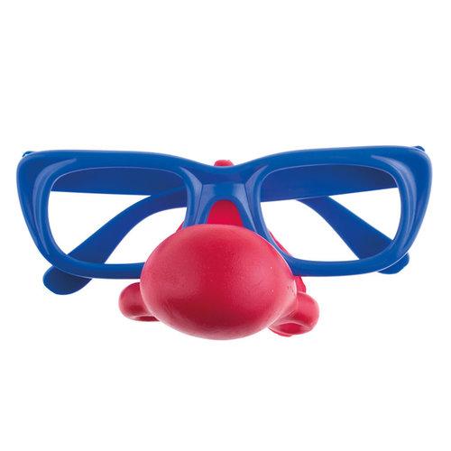 Bril met rode neus nr 7