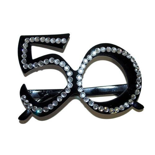 Bril strass, 50 jaar