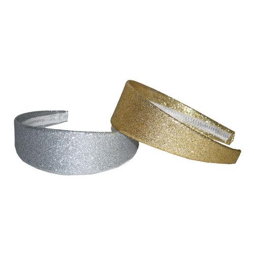 Diadeem goud of zilver glitter