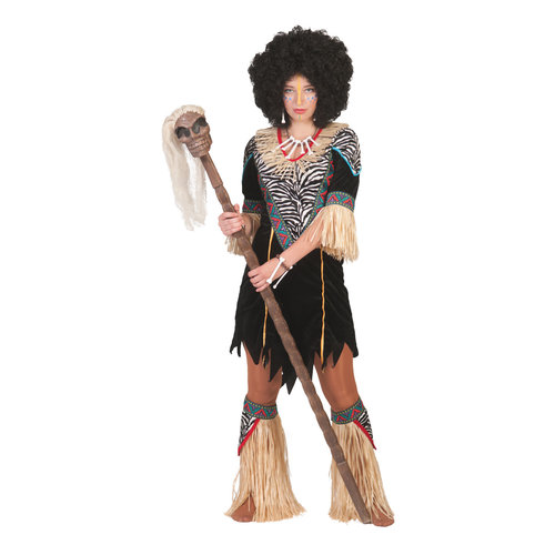 Funny Fashion Afrikaanse Abina dame