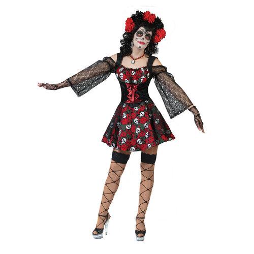 Funny Fashion Dai De Los Muertes dame