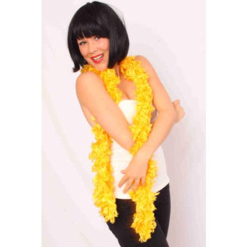 Boa sjaal geel