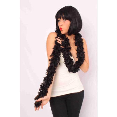 Boa sjaal zwart