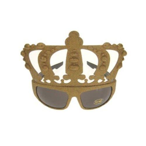 Bril glittergoud 'Kings' nr 153