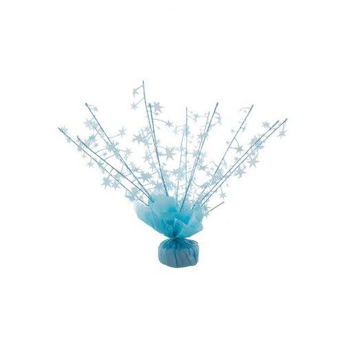 Ballon gewicht licht blauwe sterren
