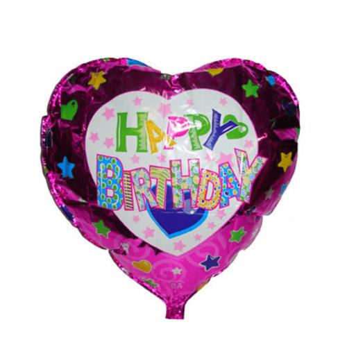 "18"" folie ballon 'Happy Birthday'"