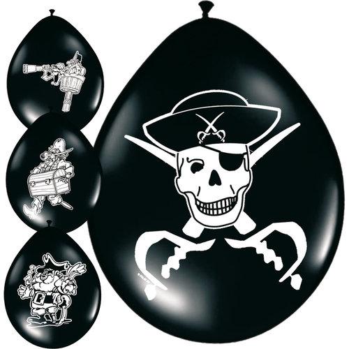Ballons 'Piraat' 8st