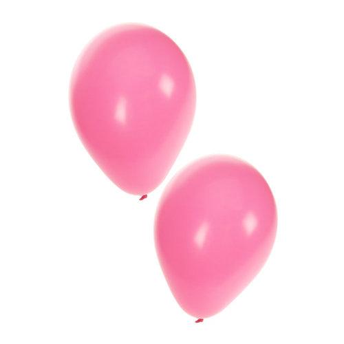 Ballonnen babyroze nr 10, per 50st
