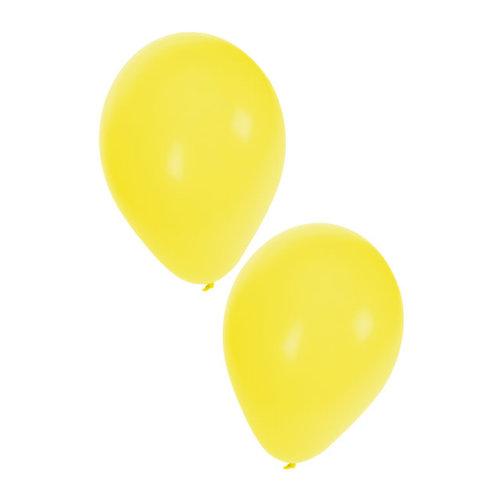 Ballonnen geel  nr 10, per 50st