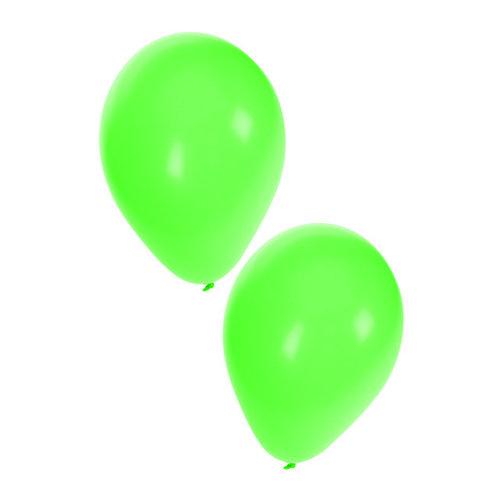 Ballonnen groen nr 10, per 50st