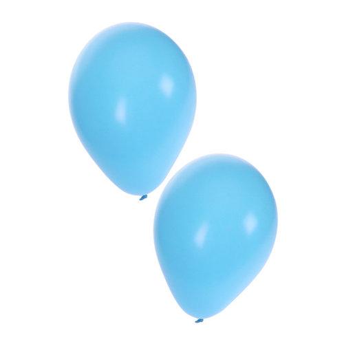 Ballonnen licht blauw nr 10, per 50st