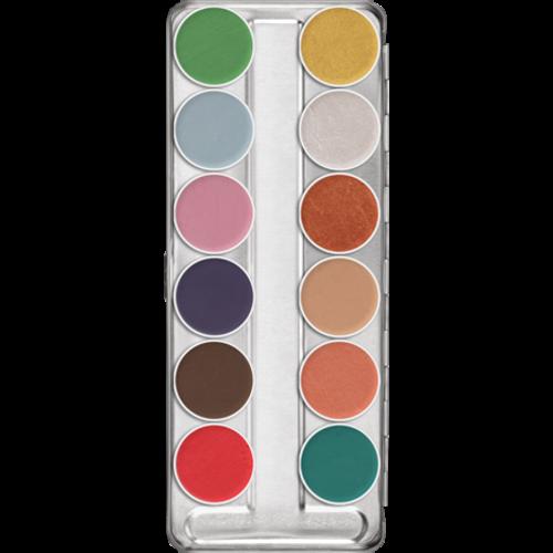 Aquacolor pallet 12 kleuren classic FX