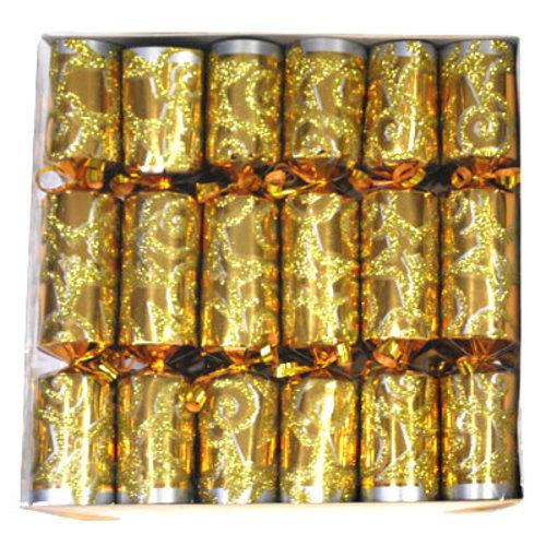 Cracker surprise(kroon,rolfluit,partypopper) 12st in doos