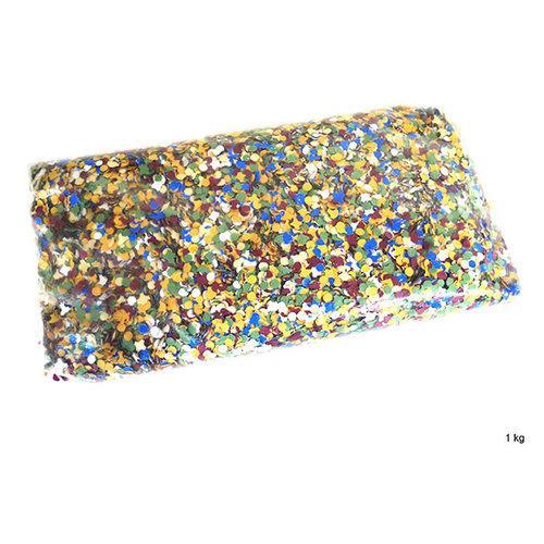 Confetti, gekleurd 1kg