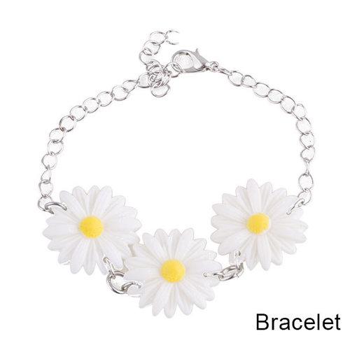 Armband 'Hippie' bloemen