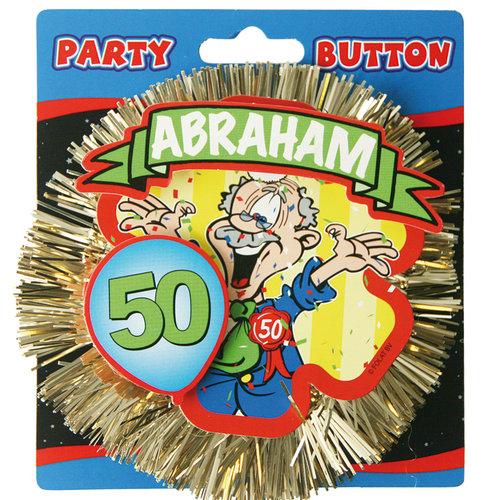 3D Button Abraham 50